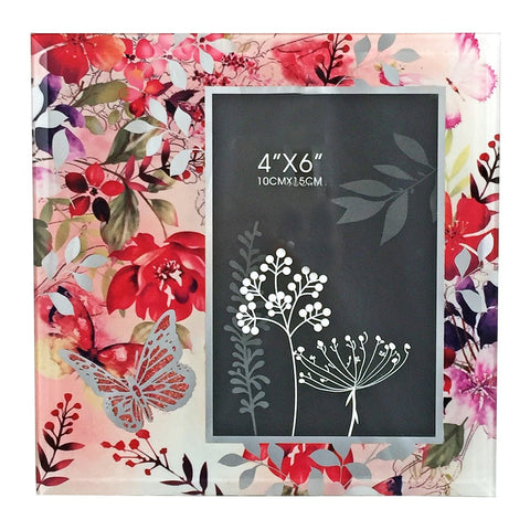 Pretty floral photoframe