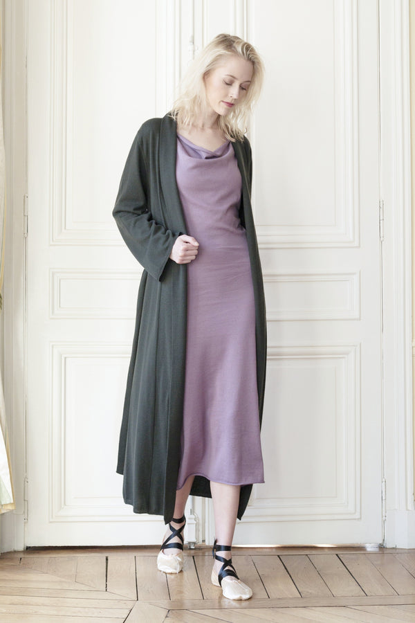 Robe-trench Long