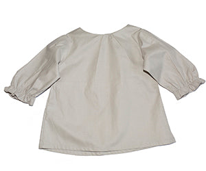 Charlotte blouse in Dove