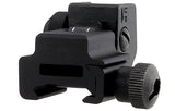 UTG Flip-up Rear Sight w/Windage Adj & Dual Aiming Apertures