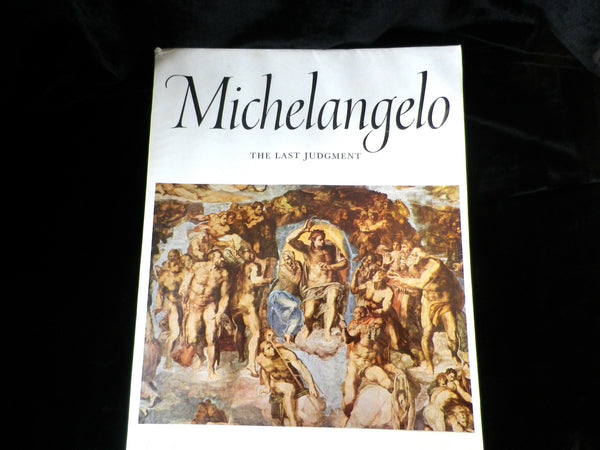Michelangelo, Express Art Book, 16 Colour Prints, The Last Judgement - Taingtiques - 1