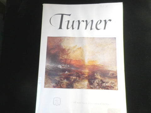 Joseph Turner, Express Art Book, 16 Full Colour Prints, 1960s - Taingtiques - 1