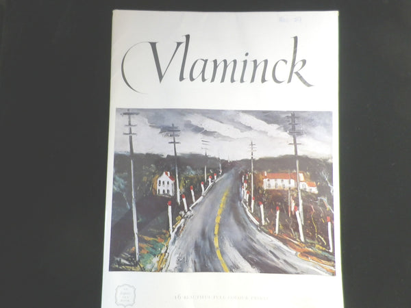 Maurice de Vlaminck,  Express Art Book, 16 Full Colour Prints, 1960s - Taingtiques - 1