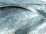 British Empire sterling silver collectable plate, diamond jubilee - Taingtiques - 3