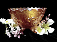 Carnival glass bowl, Sowerby glass, Thistle and Thorn - Taingtiques - 1
