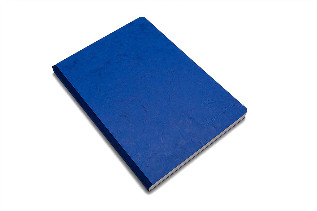 Clairefontaine, Medium Age Bag Notebook, Blue, A5, 96 Sheets, Lined