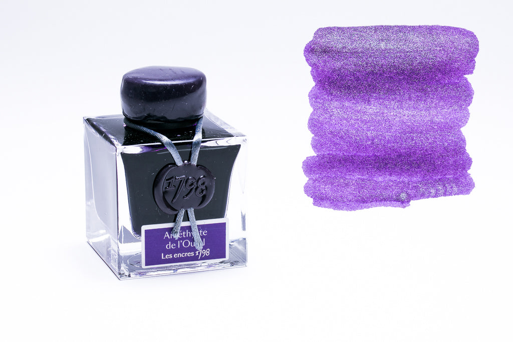 J. Herbin, 1798, Amethyste de l'Oural Fountain Pen Ink, 50ml