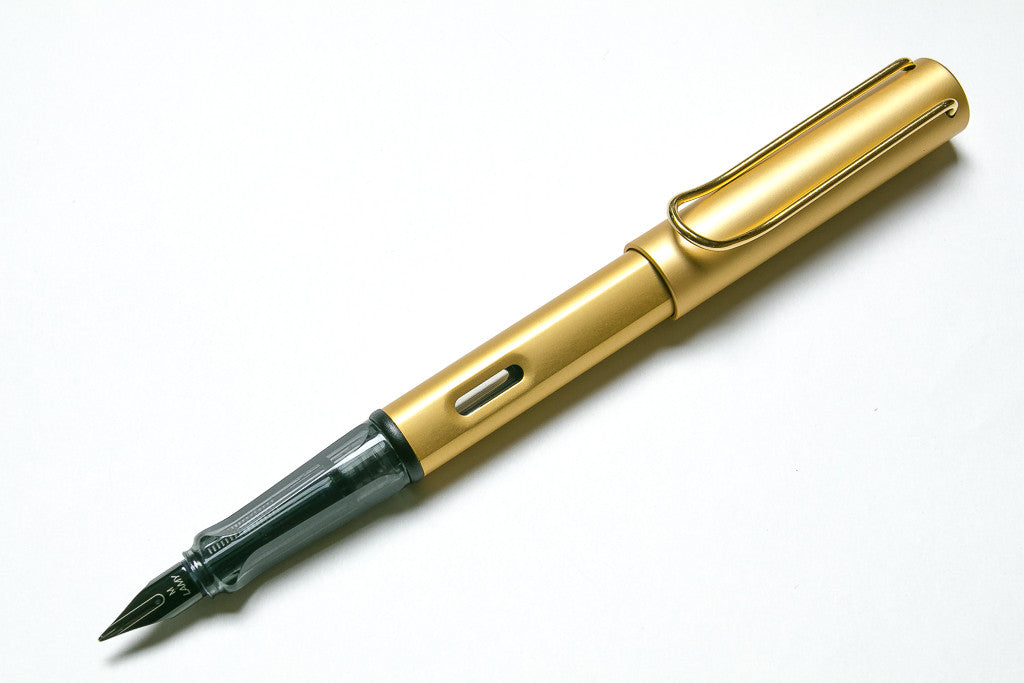 Lamy, Lx, Gold Fountain Pen
