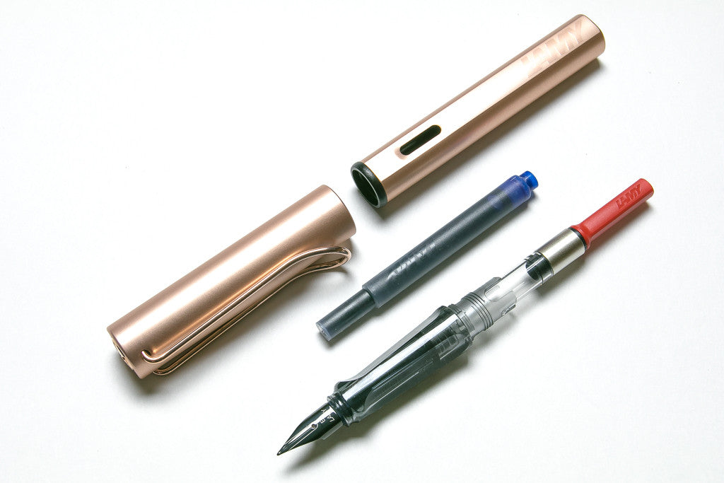 Lamy, Lx, Rosegold Fountain Pen, Parts