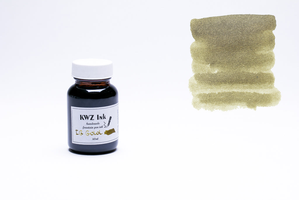 KWZ Ink, IG Gold Fountain Pen Ink, 60ml