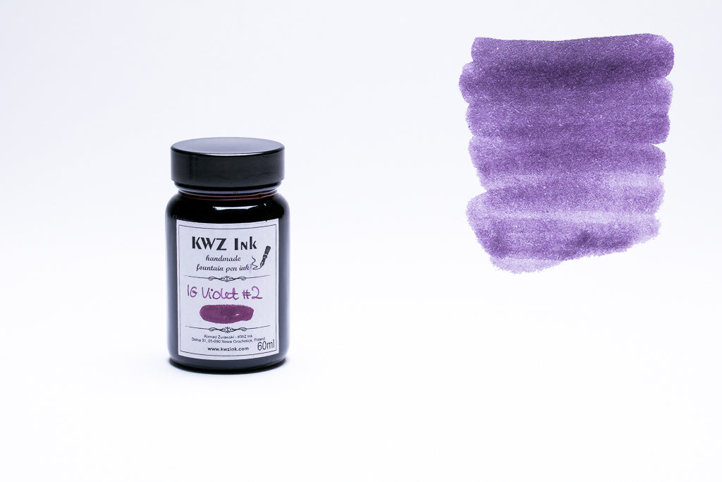 KWZ Ink, IG Violet #2 Fountain Pen Ink, 60ml