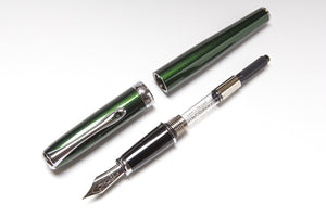 Diplomat Excellence A Fountain Pen in Evergreen, Parts
