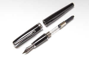 Diplomat Excellence A Fountain Pen in Black, Parts