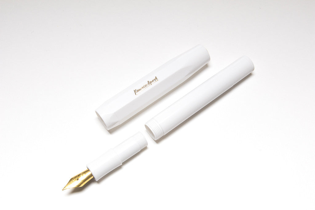 Kaweco Classic Sport White, Parts