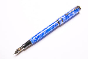 Conklin, Duragraph Fountain Pen, Ice Blue, Posted