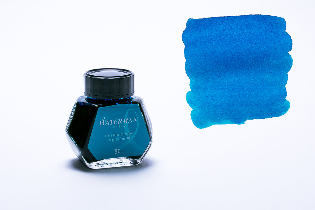 Waterman Paris, Inspired Blue Fountain Pen Ink, 50ml Bottle