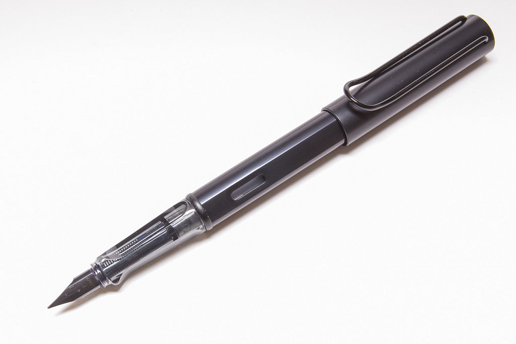 Lamy AL-star Fountain Pen In Black, Posted