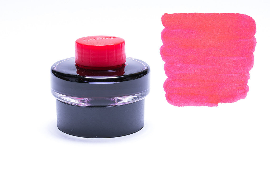 Lamy Fountain Pen Ink, Red