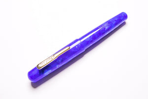 Conklin, All American Fountain Pen, Lapis Blue, Capped