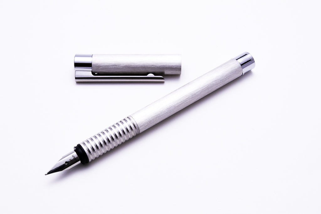 Lamy, Logo, Brushed Stainless Steel