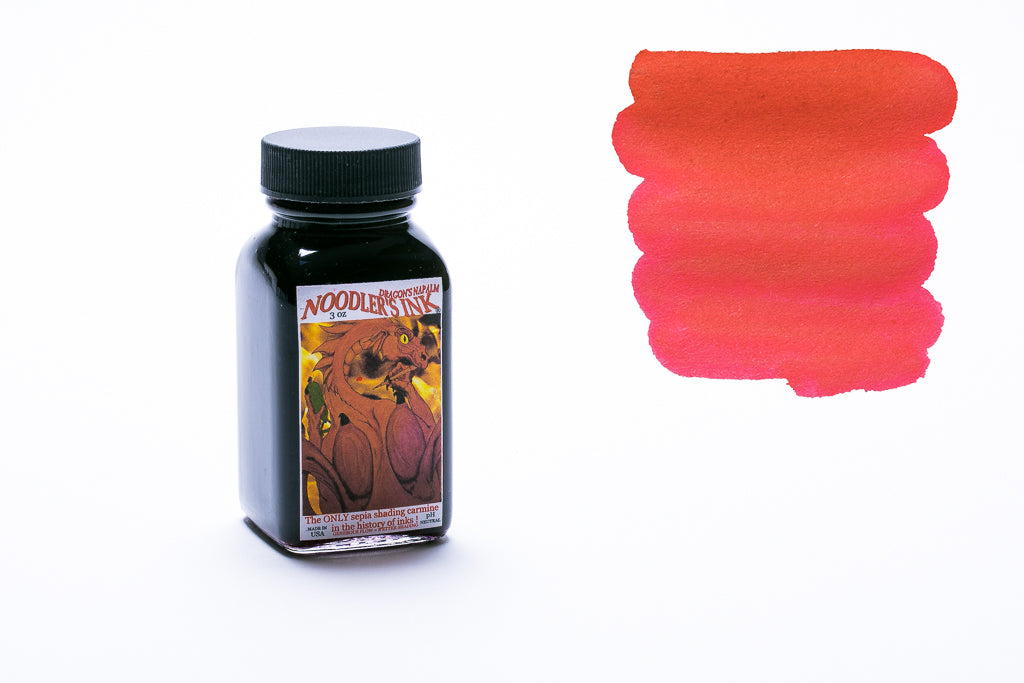 Noodler's Ink Dragon Napalm Fountain Pen Ink