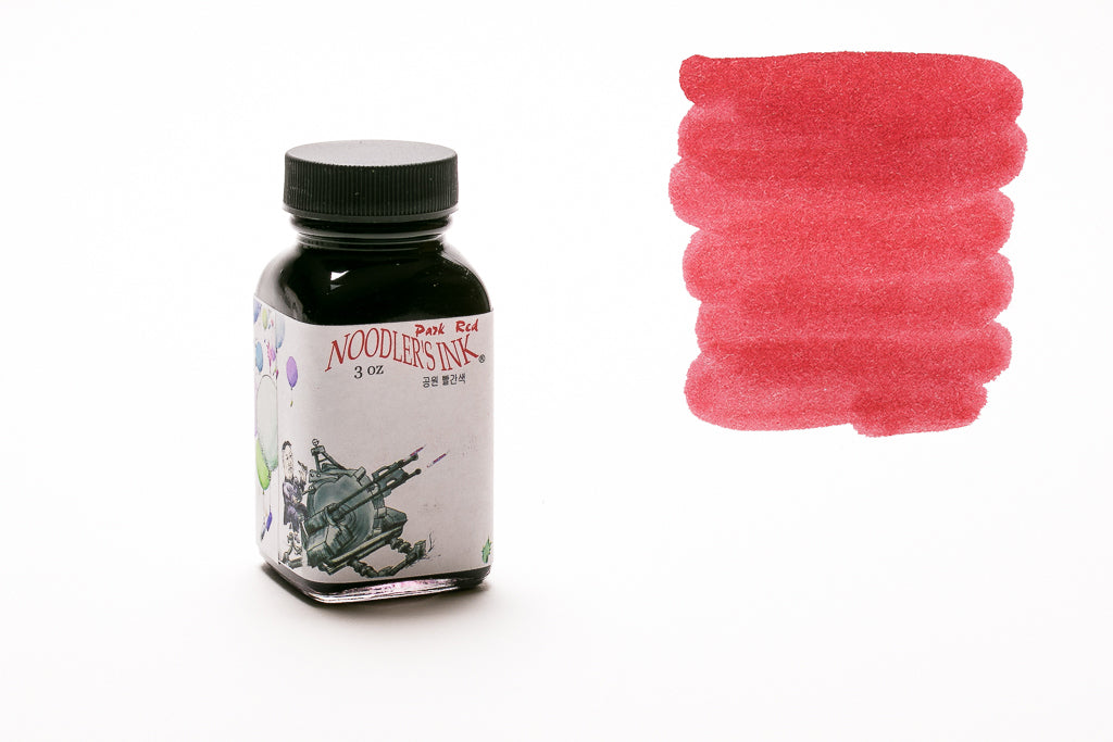 Noodler's Ink Park Red Fountain Pen Ink