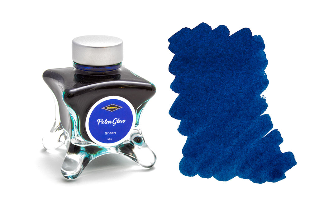 Diamine, Polar Glow, Sheen Fountain Pen Ink, 50ml