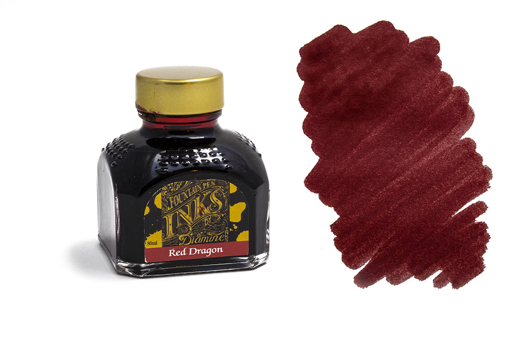 Diamine, Red Dragon, 80ml