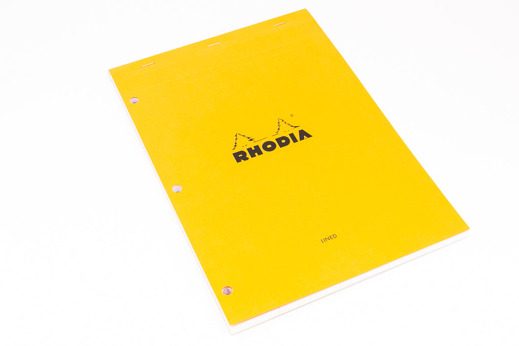 Rhodia, Large Notebook, A4, 80 Sheets, Lined.
