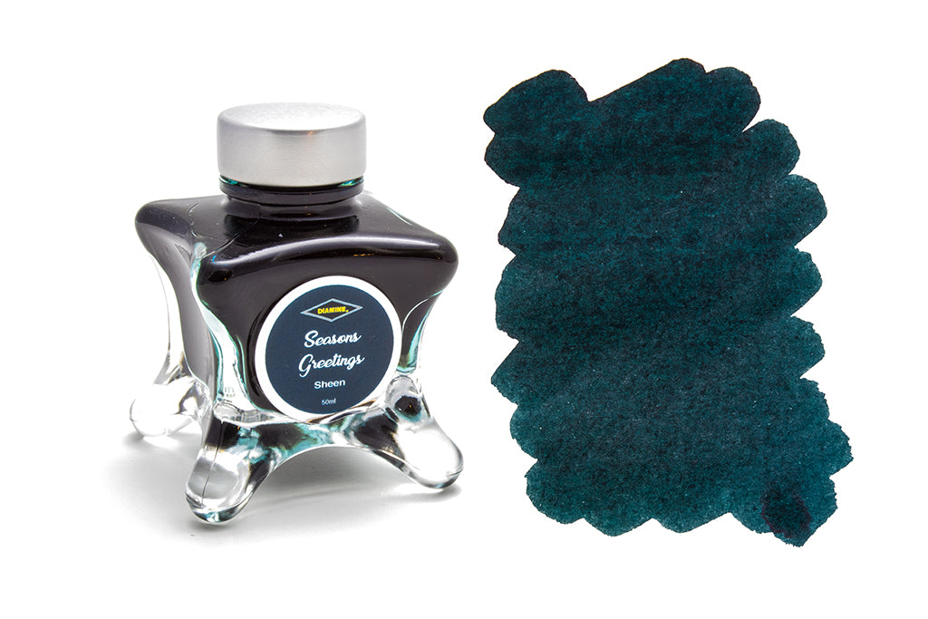 Diamine, Seasons Greetings, Sheen Fountain Pen Ink, 50ml
