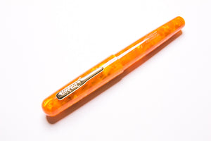 Conklin, All American Fountain Pen, Sunburst Orange, Capped