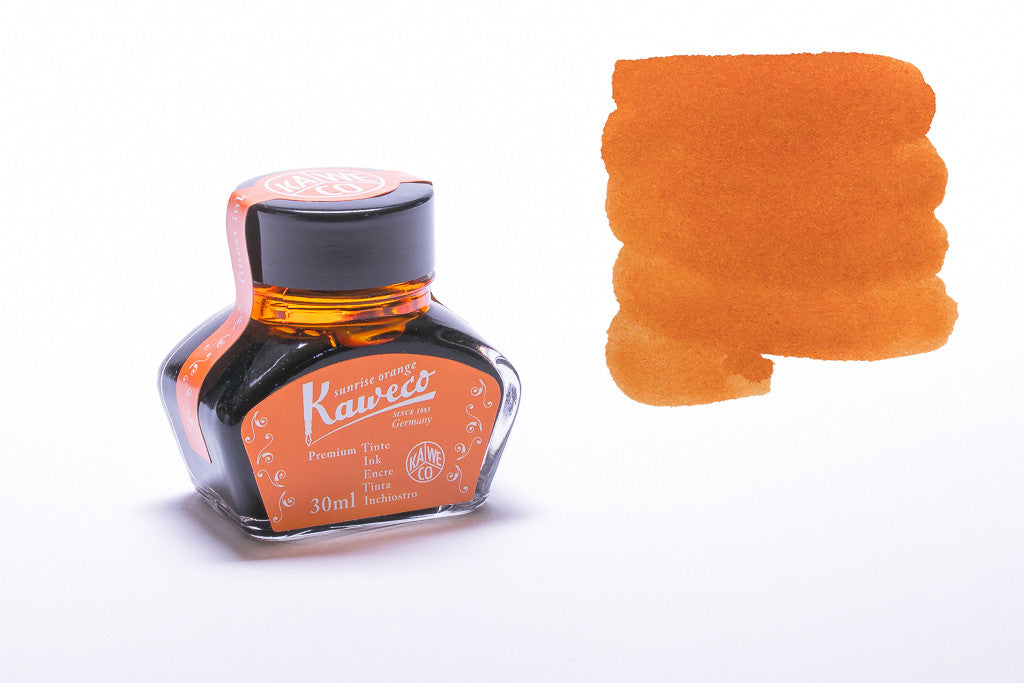 Kaweco, Sunrise Orange Bottled Ink, 30ml