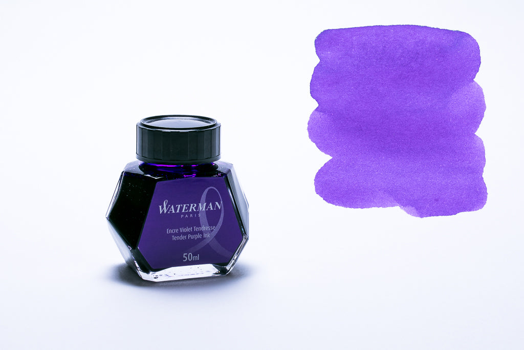 Waterman Paris, Tender Purple Fountain Pen Ink, 50ml Bottle