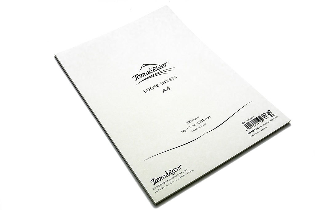 Tomoe River Premium Paper, A4, 100 Loose Sheets, Blank