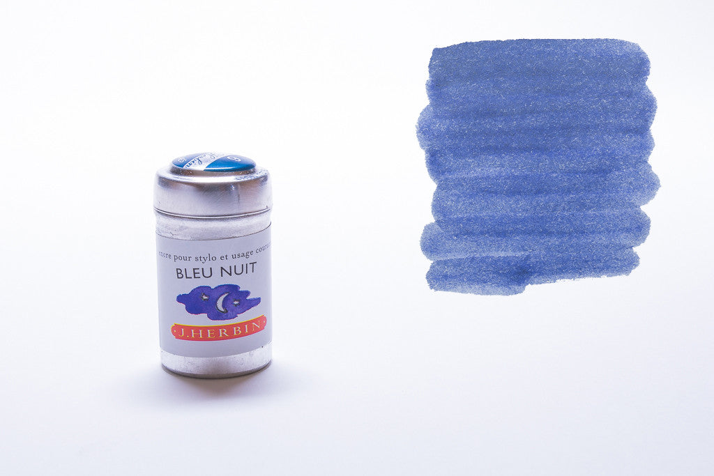 J. Herbin, Bleu Nuit, Six Cartridges
