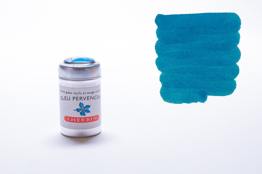 J. Herbin, Bleu Pervenche, Six Cartridges