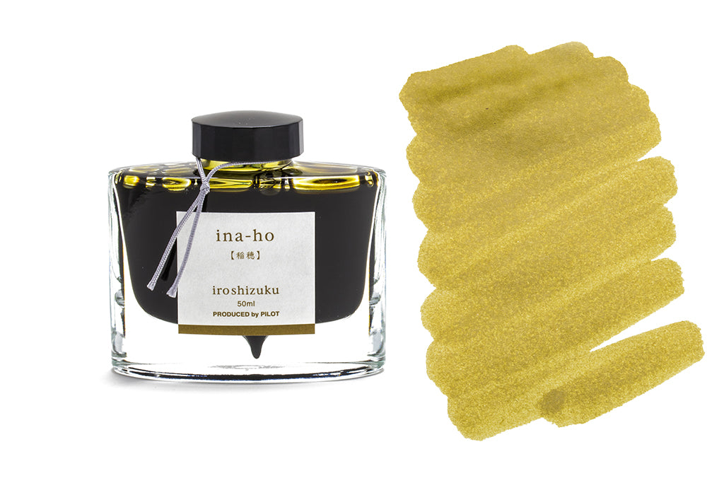 Pilot, Iroshizuku, Ina-ho, Rice Ear, 50ml