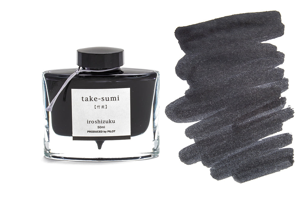 Pilot, Iroshizuku, Take-sumi, Bamboo Charcoal, 50ml