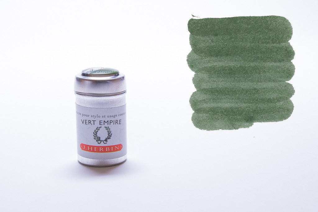 J. Herbin, Vert Empire, Six Cartridges