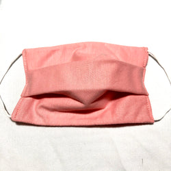 Cotton Face Mask Two Layer Light Pink