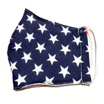 American Flag Print Cotton Face Mask