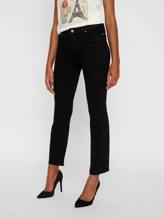 SHEILA CROPPED KICK FLARE JEANS <br>*available in 2 inseams*