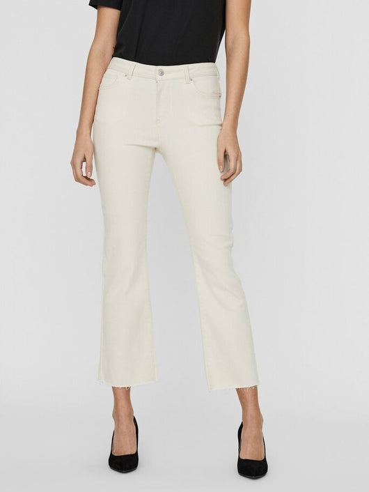 SHEILA CROPPED KICKFLARE JEANS (BIRCH) <br>*available in 2 inseams*