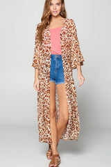 KINDRED SPIRIT SHEER KIMONO DUSTER