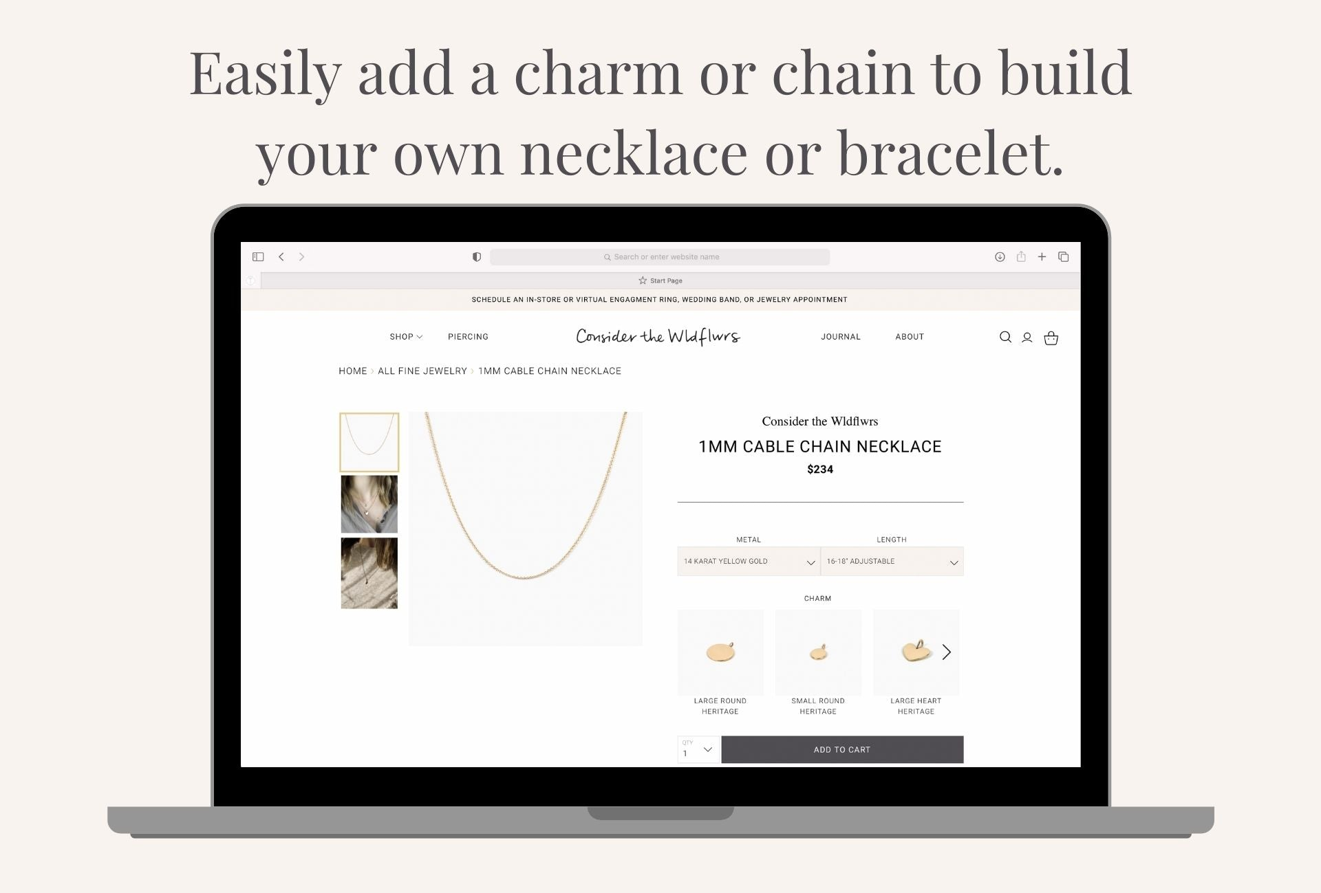 build your own charm bracelets and necklaces