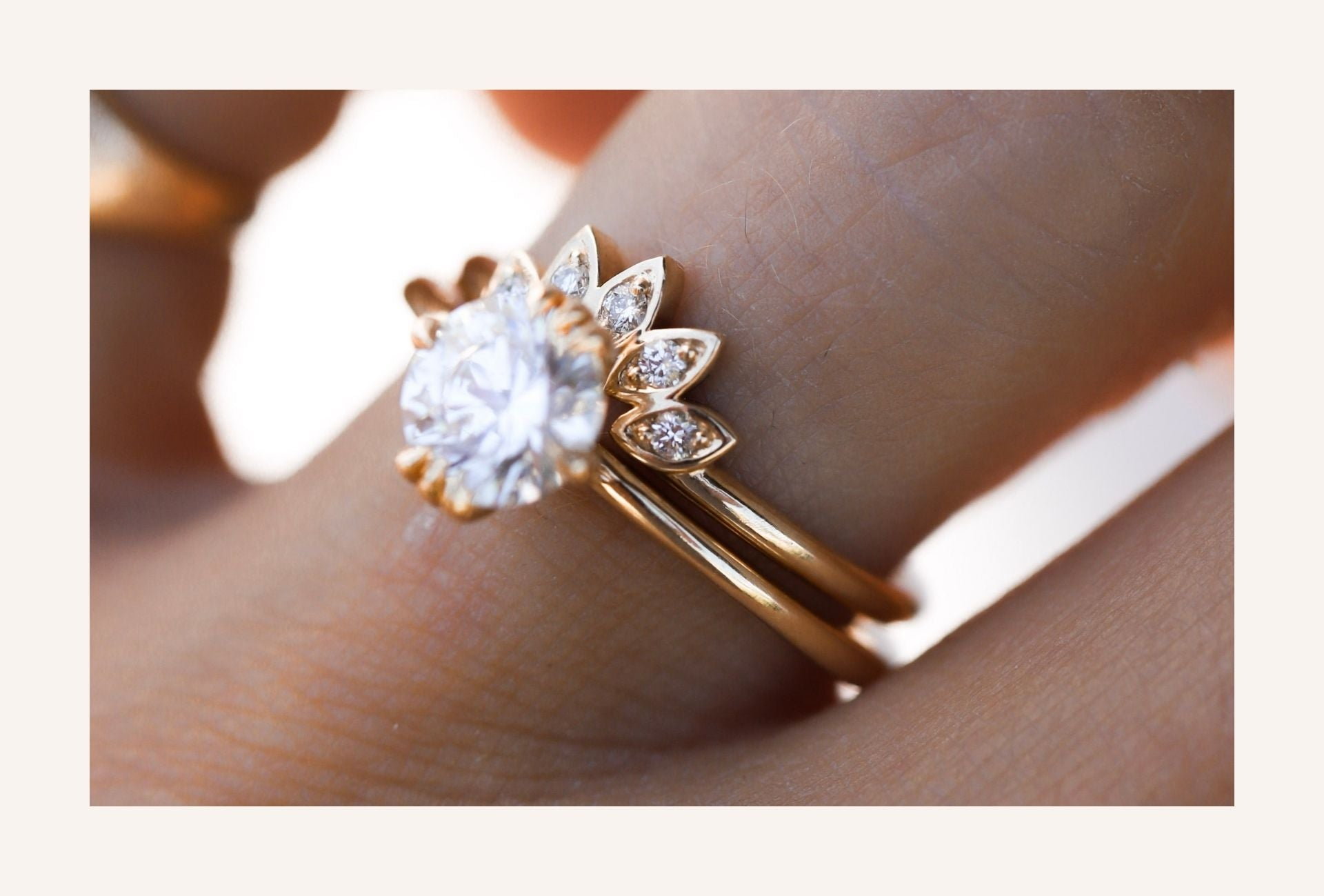 unique wedding rings on a budget