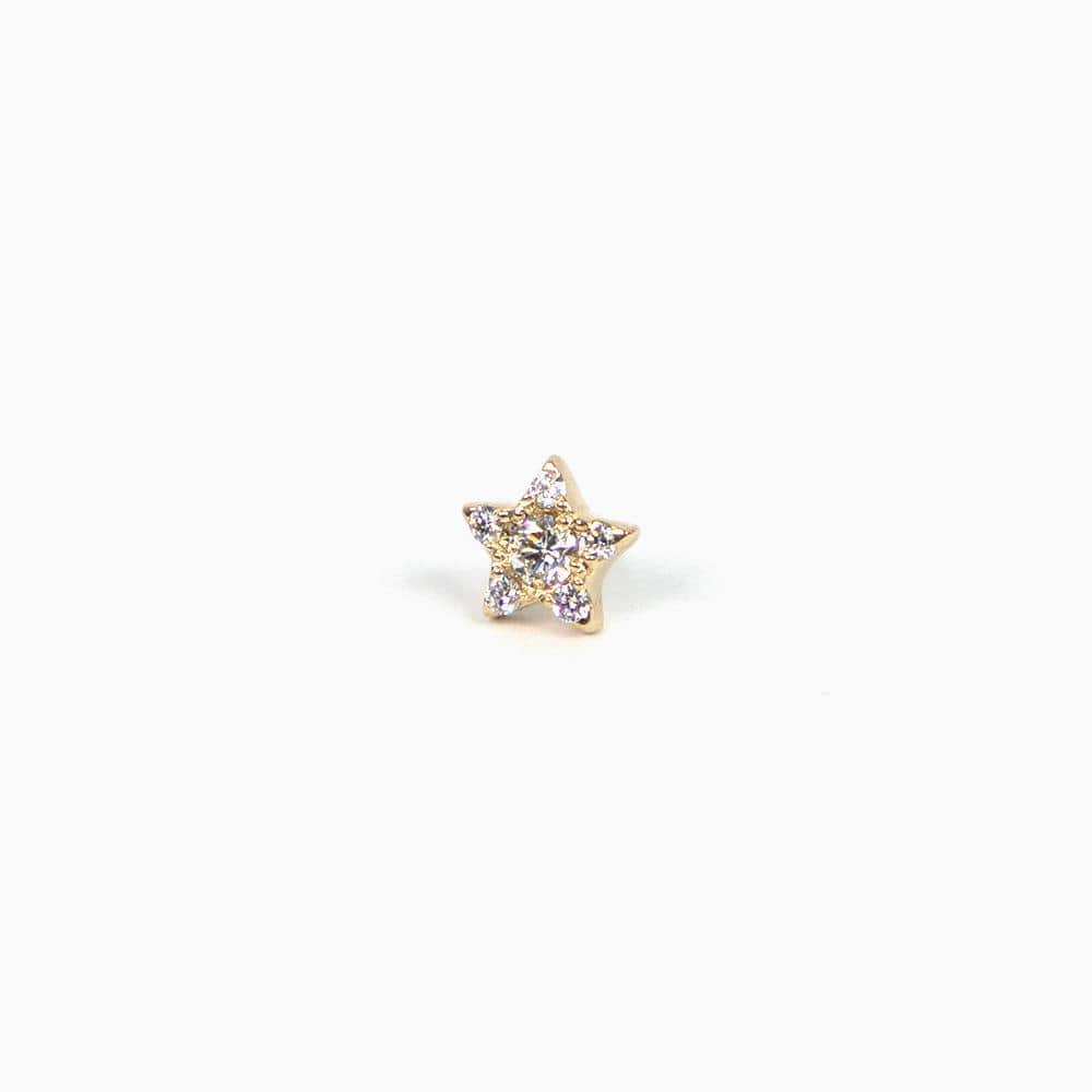 Pavé Star Stud - Consider the Wldflwrs