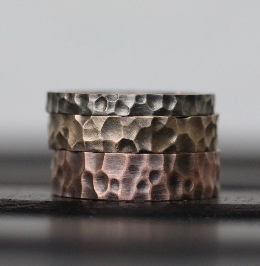 Hammered 5mm Band