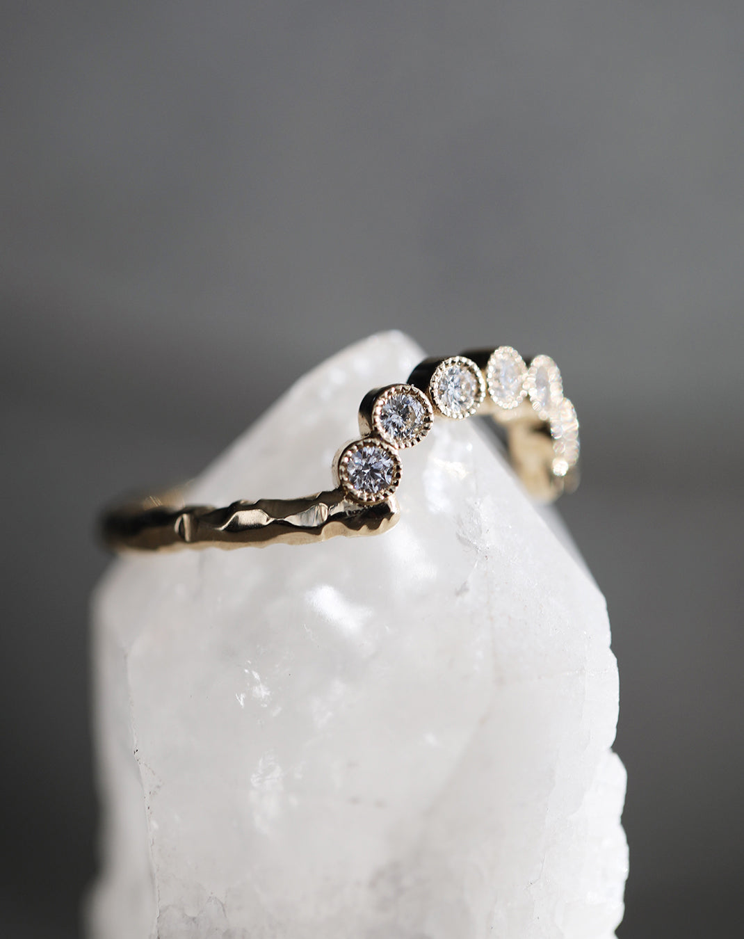 Arched Briar Ring (Ready-to-Ship)