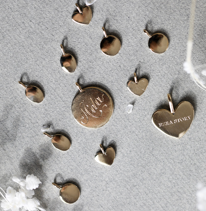 Small Heart Heritage Charm